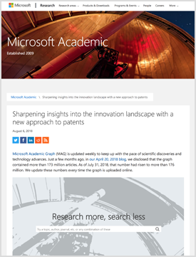 "Sharpening insights into the innovation landscape with a new approach to patents<br><small class=""col-meta"">August 6, 2018</small>"