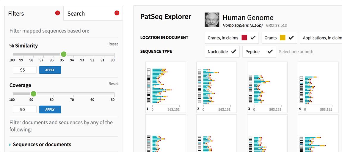 PatSeq: Explorando Secuencias Biológicas en Patentes